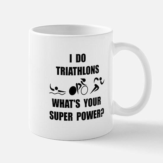 Triathlon Super Power: Mug