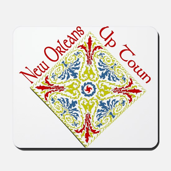 Uptown New orleans Mousepad