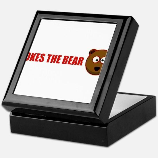 Pokes the bear Keepsake Box