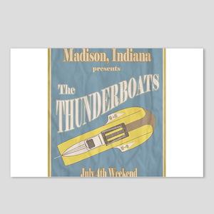 Vintage Thunderboat Postcards (Package of 8)