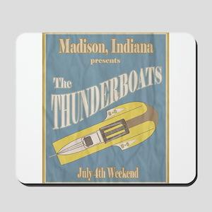 Vintage Thunderboat Mousepad