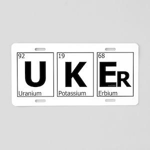 UKEr as Elements on the Periodic Table Aluminum Li