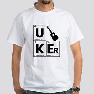 UKEr as Elements on the Periodic Table White T-Shi