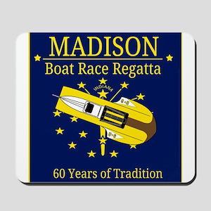 Madison Boat Race Regatta Mousepad