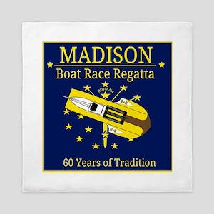 Madison Boat Race Regatta Queen Duvet