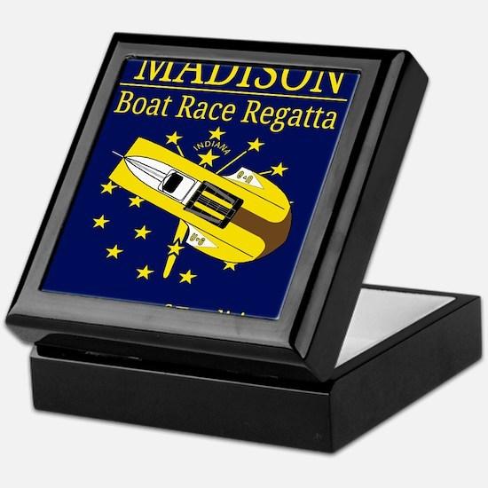 Madison Boat Race Regatta Keepsake Box