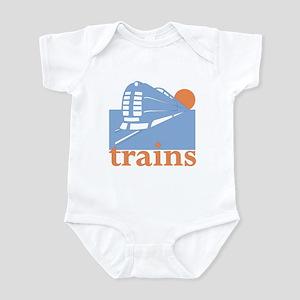 Trains Infant Bodysuit