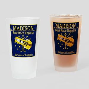 Madison Boat Race Regatta Drinking Glass