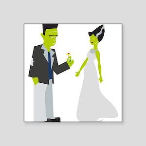 Frankenstein & Bride Sticker