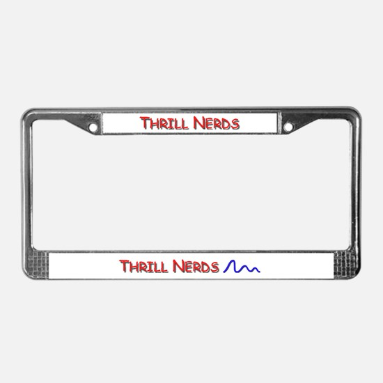 Amusement parks License Plate Frame