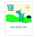 My Tiny Teal Deer Posters