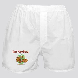 Lets Have Pizza Boxer Shorts