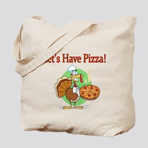 Lets Have Pizza Tote Bag