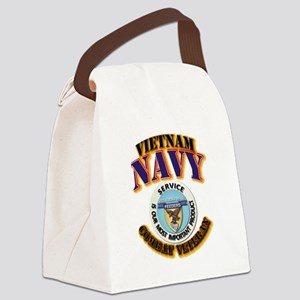 USS - Aludra (AF-55) - VN Cbt Vet Canvas Lunch Bag