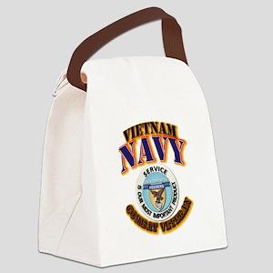 USS - Aludra (AF-55) - VN Cbt Vet Canvas Lunch Bag