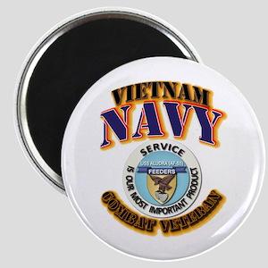 USS - Aludra (AF-55) - VN Cbt Vet Magnet