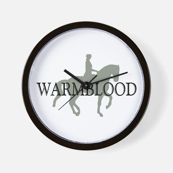 Piaffe Warmblood Wall Clock