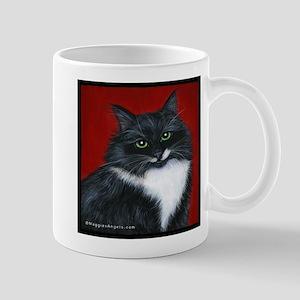 "Tuxedo Cat ""Twinkle Toes"" Mug"