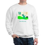 My Tiny Teal Deer Sweatshirt
