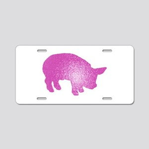 LITTLE ONE Aluminum License Plate
