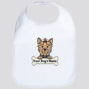 Personalized Yorkie Bib