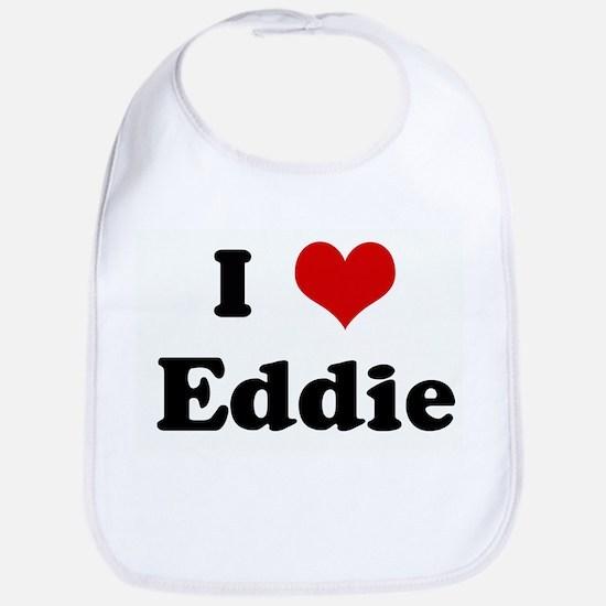 I Love Eddie Bib