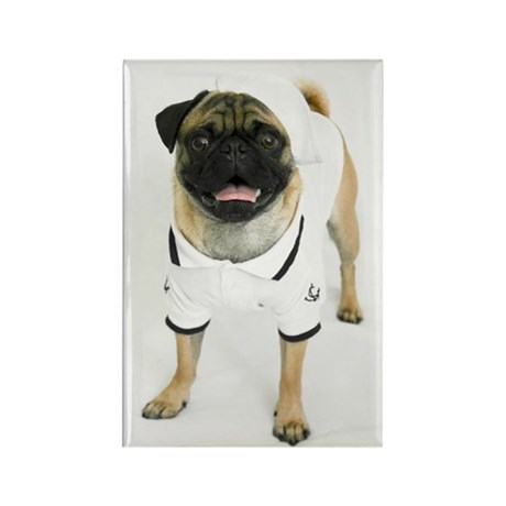 Sailor Pug Magnet