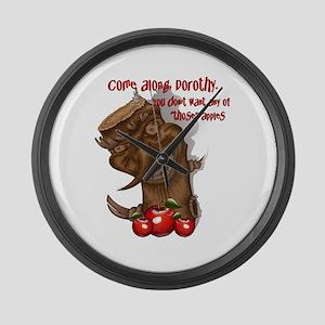 OZ Wicked Apple Tree Large Wall Clock