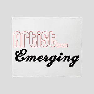 Artist...Emerging Throw Blanket