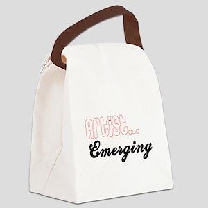 Artist...Emerging Canvas Lunch Bag