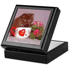 Chocolate Persian Trinkits/Keepsake Box