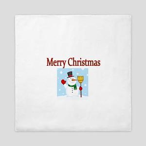Merry Christmas Queen Duvet