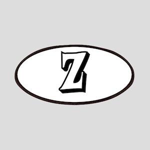 Action Monogram Z Patches