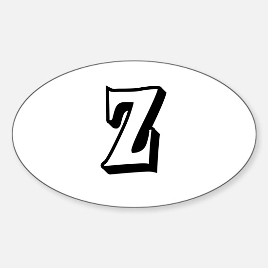 Action Monogram Z Decal
