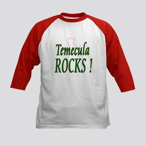 Temecula Rocks ! Kids Baseball Jersey