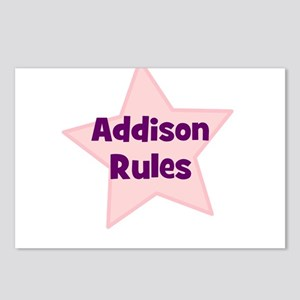 Addison Rules Postcards (Package of 8)