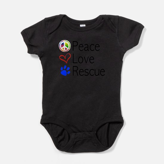 Peace Love Rescue Body Suit