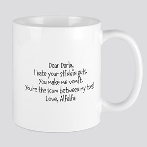 Alfalfa love note Mug