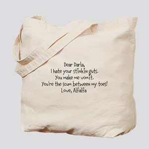 Alfalfa love note Tote Bag