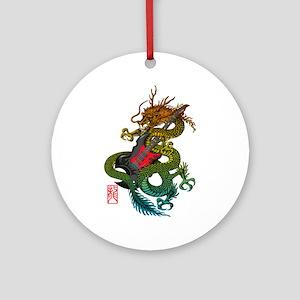 Dragon original 03 Ornament (Round)
