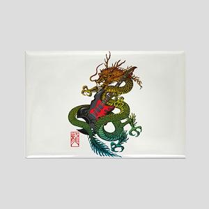 Dragon original 03 Rectangle Magnet