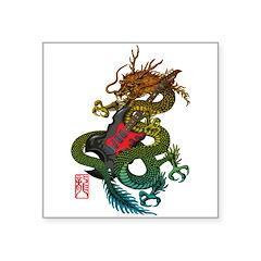 Dragon original 03 Square Sticker 3