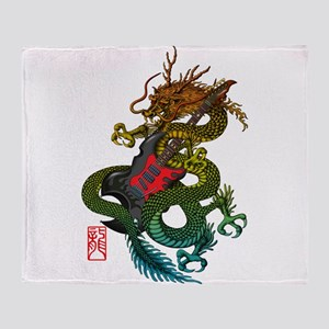 Dragon original 03 Throw Blanket