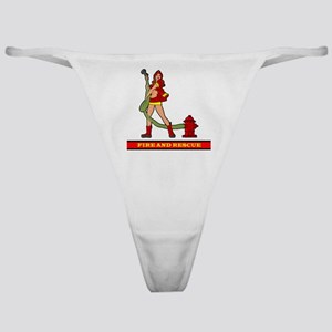 FIREFIGHTER GIRL Classic Thong