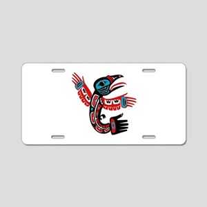 NEW FORMED Aluminum License Plate