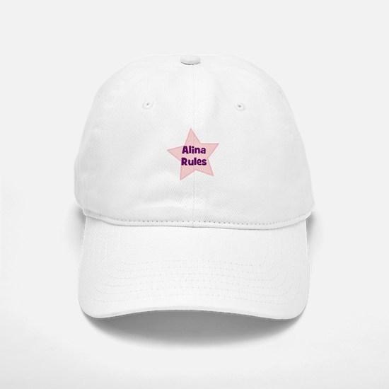 Alina Rules Baseball Baseball Cap