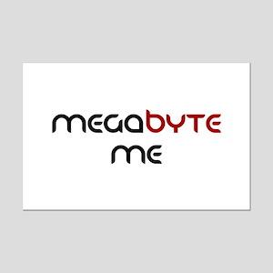 Megabyte Me Mini Poster Print
