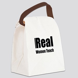 Real Women Teach Canvas Lunch Bag