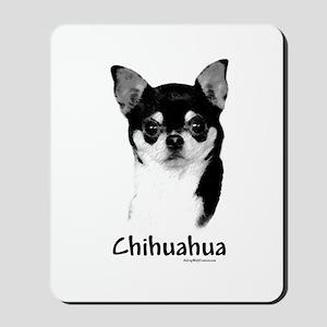 Chihuahua Charcoal Mousepad