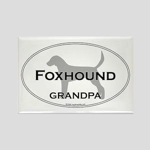 En. Foxhound GRANDPA Rectangle Magnet